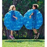 Buy cheap Colourful Inflatable Human Ball Spheres , Blue Soccer Bubble Ball For Kids product