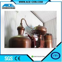 Buy cheap Copper Alcohol Distillation Equipment System For Sale & Copper Whiskey Still Equipment For Sale product