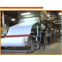 Buy cheap toilet paper roll making machine with 7t/d capacity,paper machine product