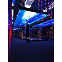 Buy cheap Full Color Indoor Led Window Screen , Video Advertising Screen Al Die Casting Cabinet product