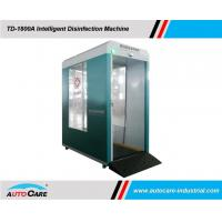 Buy cheap Mobile disinfection Cabin with disinfectant spray/ Intelligent face recognition with Personnel Thermometry product