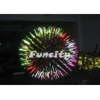 0.8mm Colourful PVC Giant Inflatable Zorb Grassplot Ball for Entertainment