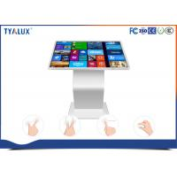 Buy cheap 1080P multi touch surface Free Standing Digital Signage , interactive touch kiosk product