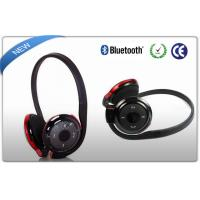 China Black Neckband Bluetooth Sport Headphones MP3 Player SD Card Slot on sale