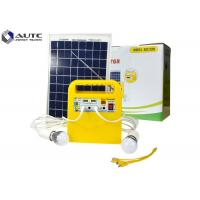 Buy cheap Yellow Household Solar Lighting System 10 Hours Lighting Time CE Approval product