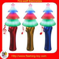 Buy cheap Eco-friendly Logo 4 led shining Traditional Christmas Decorations with music from wholesalers