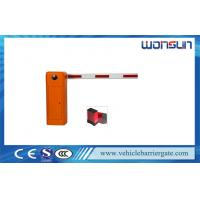 Buy cheap CE Certificate Parking Lot Automatic Boom Barriers With SKF Bearing from wholesalers