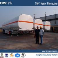 China fuel tank trailer , fuel tank semi trailer , 50000 liters fuel tank semi trailer on sale