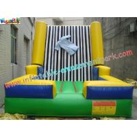 Buy cheap Velcro Walls,Sticky Games For Childrens Inflatable Sports Games 4L x 3.5W x 2.5H Meter product