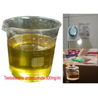 Buy cheap Yellow Oil Injectable Anabolic Steroids Testosterone Undecanoate 300mg/ml CAS 5949-44-0 product