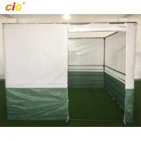 Buy cheap White Green 3x3 Sukkah Outdoor Tent Outdoor Furnitures With Powder Coating Steel product