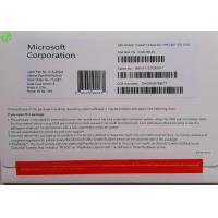 Buy cheap MS Office Windows OEM Software 64 Bit / 32 Bit Operating System , Win 10 Pro Retail product