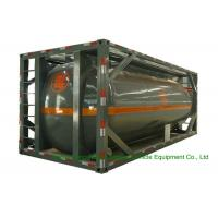 Buy cheap 316 Stainless Steel ISO Tank Container 20 FT For Hazardous Liquids Road transport product