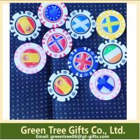 Buy cheap Factory make high quality custom round Custom poker chips and casino chip product