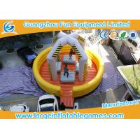 China 0.55mm PVC Tarpaulin Inflatable Sport Games / Inflatable Wrecking Ball on sale
