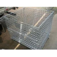 Buy cheap Folding Wire Mesh Container product