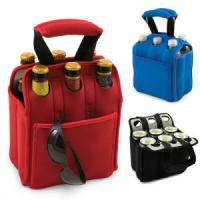 Buy cheap Neoprene Wine Bag,6 bottle & can cooler bag product