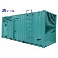 1800RPM Heavy-Duty Cummins Diesel Generator with 20ft Container Canopy