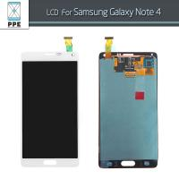 Buy cheap Capacitive Touch Screen Samsung Note 4 DigitizerReplacement With Frame 6 Month Warranty from wholesalers