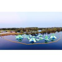 Buy cheap Oxford Inflatable Aqua Fun Park / Customized Inflatable Water Park Games For Lake product