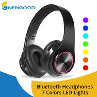 China Wireless Headphones Bluetooth Earphone Foldable Adjustable Handsfree Headset with MIC for samsung xiaomi mobile phone on sale