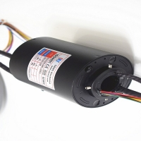 Buy cheap 300rpm 25.4mm Through Bore 1000M Ethernet Slip Ring product