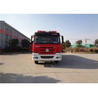 Buy cheap HOWO Chassis Motorized Commercial Fire Trucks from wholesalers