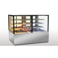 Buy cheap Cold & Warm 2 In 1 Food Display Showcase 3 Shelves Distance & Angle Adjustable product