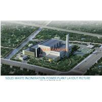 Buy cheap MSW Household Schools Trash Burning Waste To Energy Incineration Plant from wholesalers