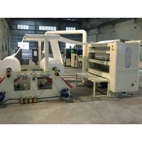 Buy cheap Touch Screen Facial Hand Towel Machine , Connect Log Saw And Single Packing Machine product