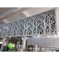 Buy cheap hollow pattern 3mm aluminum cladding panel with powder coated for facade curtain wall solid panel single panel product