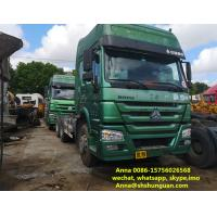 Buy cheap Heavy Duty 10 Wheeler Used Trailer Head 6800 * 2496 * 3668 Mm ISO Approved product