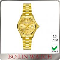 Buy cheap Private Label Male 18K Solid Gold Watches For Men With Diamonds OEM / ODM product