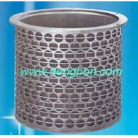 Buy cheap Wedge Wire Screen basket for paper machine product