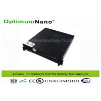 Buy cheap Telecom Lithium Iron Phosphate Lifepo4 Battery Pack ,RS485 RS232 48v 50ah Battery product