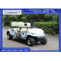 Buy cheap Without roof   4 Wheel 4 Person Electric Club Car Golf Carts With 48V Battery Powered product