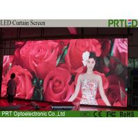 Buy cheap Waterproof P10.416 LED Curtain Screen , Indoor Outdoor Stage Background LED Screen product