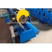 Buy cheap Rainwater Downspout Roll Forming Machine With φ75mm Axis for Rainwater Downpipe product