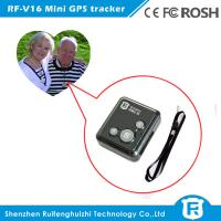 Quality Personal wearable gps tracker chips elderly with free IOS& Android APP software for sale