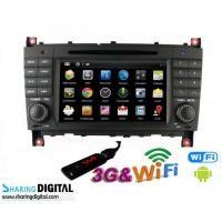 Buy cheap Mercedes BENZ GPS Navigation With Android Double Din DVD Audio Radio product