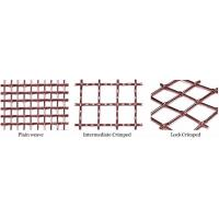 Buy cheap Crimped copper wire mesh product