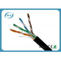 Buy cheap Outdoor Cat5e Lan Cable , Computer Cat5e Network Ethernet Cable UTP With Oil 1000FT product