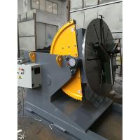 Buy cheap Welding Positioner Turning Table Use 500 Diameter Welding Chuck , Loading Capacity 1200Kg Export Russia from wholesalers