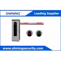 Buy cheap High Integrated Parking Lot Barrier Gate / Parking Boom Gates With Loop Detector product