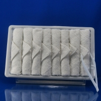 Buy cheap White Hot Airline Disposable Cotton Towel product