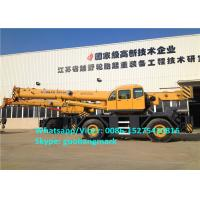 Buy cheap 150m/Min Lifting Speed XCMG RT55 55 Ton All Wheel Drive Heavy Duty Rough Terrain Tractor Crane With Cummins Engine product