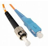Buy cheap Fiber Optic Patch Cord Low Insertion Loss ST to SC Multimode Simplex Fiber Cable product