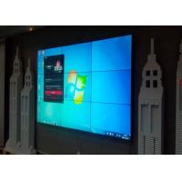 Buy cheap 55 Inch 3x3 Video Wall LCD Monitors , Large LCD Display With 3.5mm Narrow Bezel product