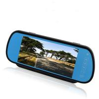 """Buy cheap Blue Glass 7"""" Display Car Rear View Mirror Monitor Supports 2 Ways Video Input from wholesalers"""
