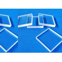 Buy cheap High Clear Pyrex Borosilicate Glass Plate For Light Guide Panel 5mm Thickness product